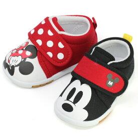 ディズニー ミッキー、ミニーマウス ベビー・キッズ超軽量シューズ Disney Mickey Mouse / Minney DS0157 12.5cm-14.0cm