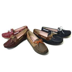レディースデイリーカジュアルシューズ ペネロペ PN-68460 婦人靴 ドライビングシューズ 22.5cm-24.5cm 女性 アシックス商事