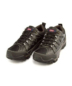 エドウィン ウォーキングシューズ スニーカー メンズ クッション性 防水 防滑 雨 雪 靴 カジュアル デイリー トラベル アウトドア レジャー EDWIN EDM-9809 ブラック