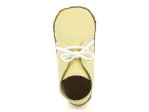 女の子 男の子 キッズ ベビー 子供靴 手作り ファーストシューズキット スニーカー 本革 ラコ raco 858 イエロー