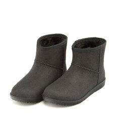 レインブーツ ヒール 痛くない 歩きやすい 疲れない レディース ボア付き クッション性 防水 雨 雪 靴 美脚 カジュアル デイリー トラベル アウトドア ミレディ MILADY MT298G ブラック