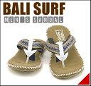 サンダル メンズ トング カジュアル デイリー トラベル リゾート 浴衣 甚平 バリサーフ BALI SURF 6417 ネイビー【メ…