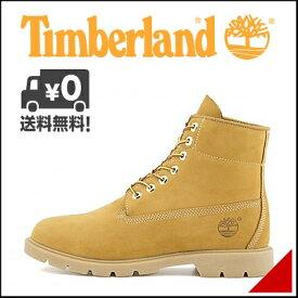 ティンバーランド メンズ 6インチ ベーシック ブーツ 防水 雨 雪 靴 カジュアル アウトドア Timberland 6inch BASIC BOOT 10066 ウィートヌバック