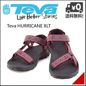 tebamenzusandaruautodoasupotsu袜子短袜搭配飓风XLT Teva HURRICANE XLT 4156爱捷特红