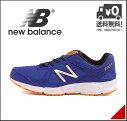 ニューバランスメンズランニングシューズスニーカーM390限定モデル軽量通気性クッション性EEカジュアルデイリートラベルウォーキングスポーツnewbalance170390ブルー/オレンジ