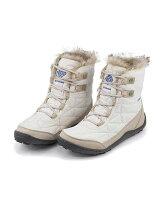 コロンビアスノーブーツレディースミンクスショーティ3内ボアあったか保温クッション性防水雨雪靴美脚カジュアルデイリートラベルアウトドアMINXSHORTY3ColumbiaBL5961シーソルト/イブ