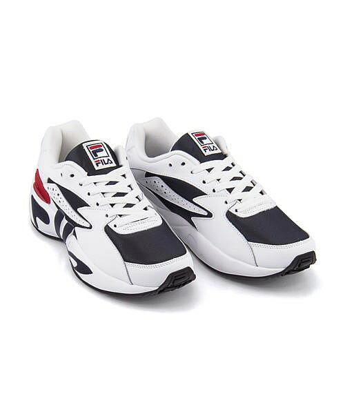 フィラ ローカット スニーカー メンズ マインドブロワー クッション性 カジュアル デイリー スポーツ ストリート ウォーキング MINDBLOWER FILA F0182 フィラネイビー/ホワイト/フィラレッド
