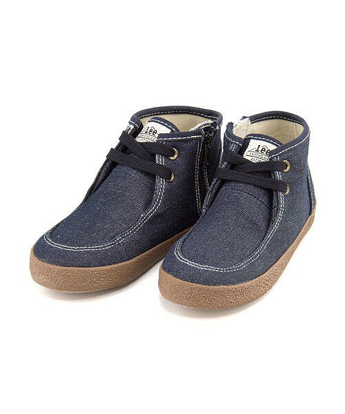 リー モカシンブーツ スニーカー 女の子 男の子 キッズ 子供靴 運動靴 通学靴 ガードナー 限定モデル