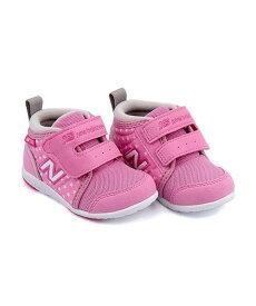 41432a24895cd ニューバランス ベビーシューズ スニーカー 女の子 キッズ 子供靴 運動靴 通学靴 IO123H クッション性 カジュアル