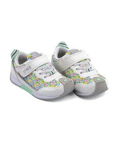 イフミー ローカット スニーカー 女の子 キッズ 子供靴 運動靴 通学靴 反射材 クッション性 屈曲性 カジュアル デイリー スポーツ スクール 学校 IFME 30-9014 ホワイト