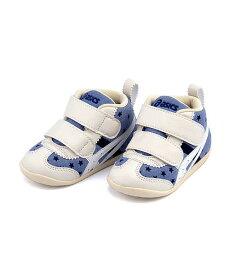 スクスク ベビーシューズ スニーカー 女の子 キッズ 子供靴 運動靴 通学靴 ファブレファーストCT3 クッション性 カジュアル デイリー スポーツ スクール 学校 FABRE FIRST CT3 asics SUKU2 アシックス 1144A015 ネイビー