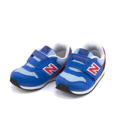 ニューバランス ベビーシューズ スニーカー 女の子 キッズ 子供靴 運動靴 通学靴 IV996 クッション性 カジュアル デイリー スポーツ スクール 学校 IV996 new balance 192996 ブルー/レッド