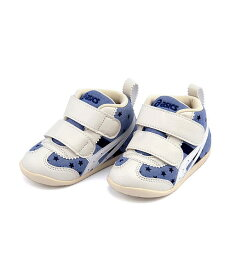 アシックス ベビーシューズ スニーカー 女の子 キッズ 子供靴 運動靴 通学靴 ファブレ FIRST CT3 クッション性 カジュアル デイリー スポーツ スクール 学校 asics 1144A015 ネイビー