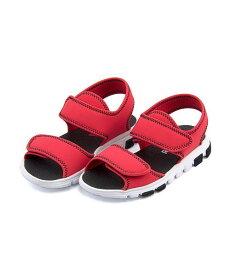 リーボック スポーツ サンダル 女の子 キッズ 子供靴 運動靴 通学靴 ウェーブグライダー 軽量 クッション性 カジュアル デイリー スポーツ スクール 学校 WAVEGRIDER Reebok CN1590 プライマルレッド/ブラック/ホワイト