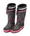 レインブーツ 長靴 女の子 キッズ 子供靴 運動靴 通学靴 ドローコード 反射材 防水 雨 雪 靴 カジュアル デイリー ア…
