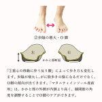 【公式】【マタニティインソール産前用】【3,240円以上で送料無料!】女性用レディース衝撃吸収О脚骨格サポート弛緩性障害がに股中敷き日本製