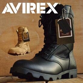COMBAT 本革 ミリタリー ブーツ AVIREX U.S.A. (アビレックス) AV2001 メンズ レディス【Y_KO】■05161103【P10】 【ren】
