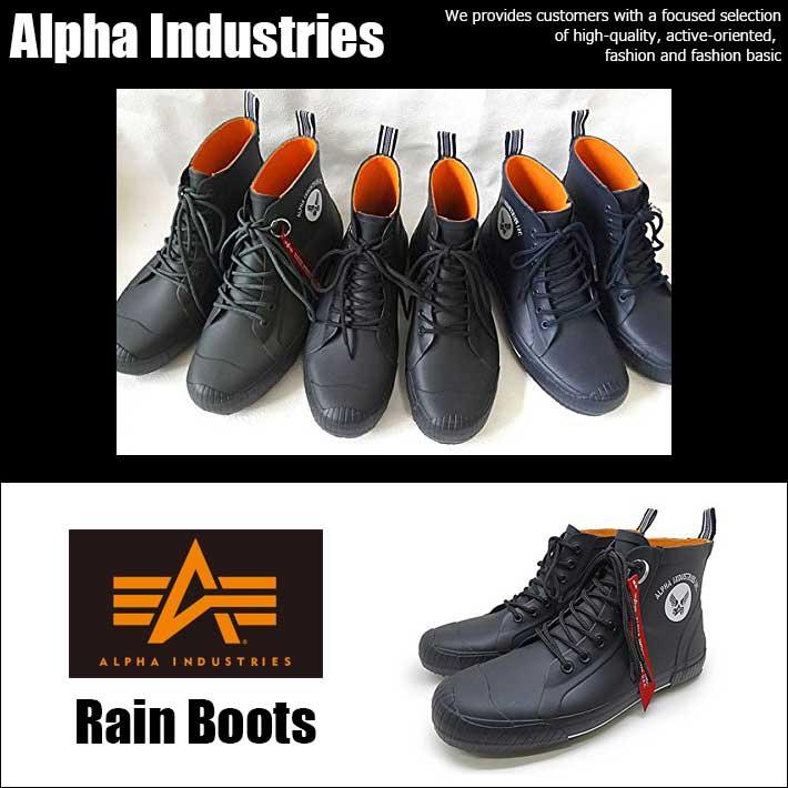 アルファインダストリーズ Alpha Industries AF-R6000 ブーツ レインブーツ スニーカー メンズ Y_KO SHA 180601