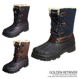 Golden Retriever 防寒ブーツ スノーブーツ メンズブーツ レインブーツ 防水 防滑 脱臭 抗菌 ウインターブーツ スノーシューズ レインシューズ 雪山 男女兼用 靴 8867 Y_KO
