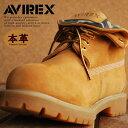 ≪送料無料≫AVIREX アビレックス 3010 本革 ロールトップブーツ メンズ COBRA ROLL