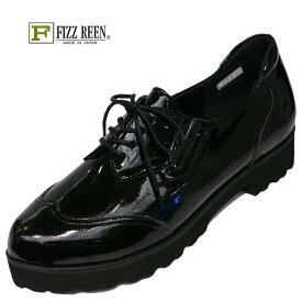 【送料無料!】FIZZ REEN フィズリーン 1965魅せるデザインと歩きやすく痛くならない信頼の日本製レディースシューズ・ブランドおとなかわいいオックスフォードシューズです