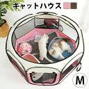 送料無料 猫 ケージ 子猫 ゲージ キャットハウス 子猫用 サークル 防災 グッズ ねこ 猫ゲージ 猫用ケージ 多頭 折りた…
