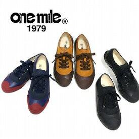 【ワンマイル】Onemileレディースローカットスニーカー OM-723 カジュアル 紐靴