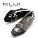 【ミッシェルクラン】MICHEL KLEINレディスウエッジソールパンプス MK-218 黒