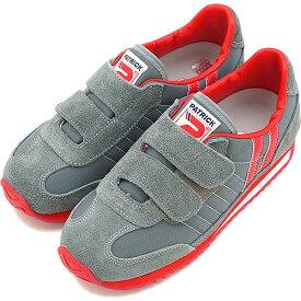 【即納】パトリック スニーカー PATRICK メンズ レディース 靴 MARATHON-V キッズ マラソン・ベルクロ GRYEN7524 日本製 スニーカ sneaker パトリック スニーカー【コンビニ受取対応商品】
