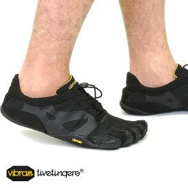 【月間優良ショップ】Vibram FiveFingers ビブラムファイブフィンガーズ メンズ KSO EVO Black ビブラム ファイブフィンガーズ 5本指シューズ ベアフット靴 (14M0701)
