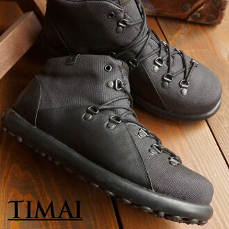 TIMAI timai sneakers shoes mens Womens CHOGUY CVS CHOW guy canvas Black (TIHUD057-01 FW15)