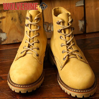 Wolverine 1,000 mile boot Duvall WOLVERINE Wolverine men's work boots 1000 Mile Boots DUVALL D wise Honey Nubuck (W40198 FW16)