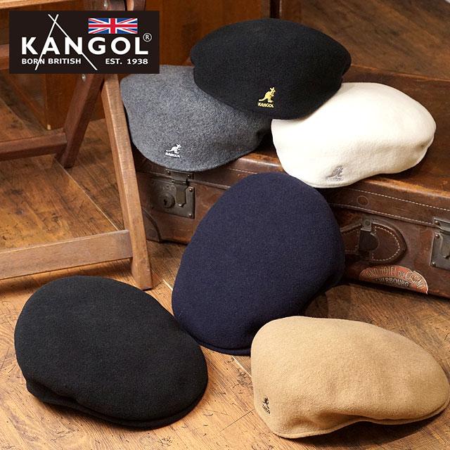 【即納】カンゴール ハンチング ウール504 KANGOL メンズ レディース帽子 Wool 504 (187169001 FW18)【コンビニ受取対応商品】