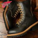 レッドウィング 9インチ ロガーブーツ スチールトゥ 編み上げブーツ REDWING 9 Logger Steel-toe Black Klondike (92...