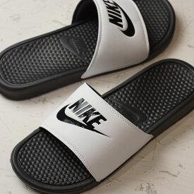 【在庫限り】NIKE ナイキ シャワーサンダル 靴 BENASSI JDI ベナッシ JDI ホワイト/ブラック/ブラック (343880-100 SS17)【e】【ts】【コンビニ受取対応商品】
