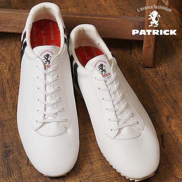 【即納】【返品送料無料】PATRICK パトリック スニーカー CALLACLE カラックル WHT メンズ・レディース (529670 FW17)【コンビニ受取対応商品】
