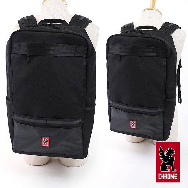 【在庫限り】CHROME クローム バッグ 21L デイパック HONDO ホンドー パックパック リュック BLACK/BLACK (BG-219 FW17)【ts】【コンビニ受取対応商品】