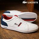 LACOSTE拉科斯特运动鞋人MNS EUROPA欧洲WHT/NVY(SPM0012-042 FW17)