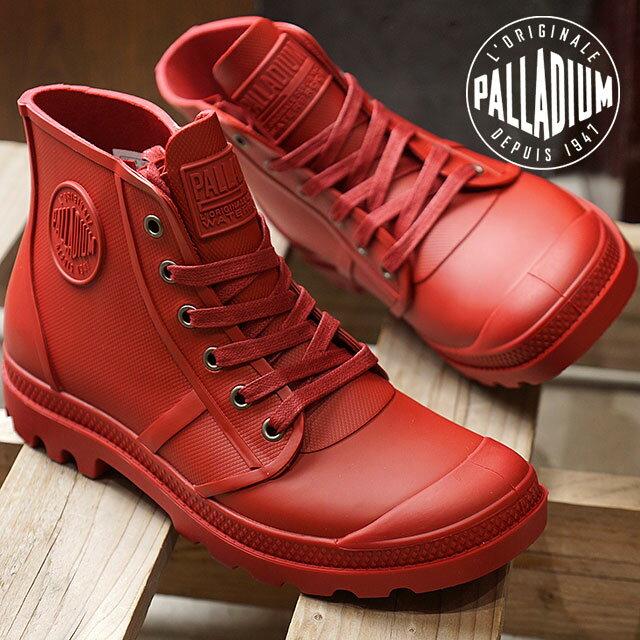 【在庫限り】PALLADIUM パラディウム スニーカー 靴 メンズ・レディース PAMPA HI RAIN パンパ ハイ レイン RIO RED (75556-692 FW17)【e】【ts】
