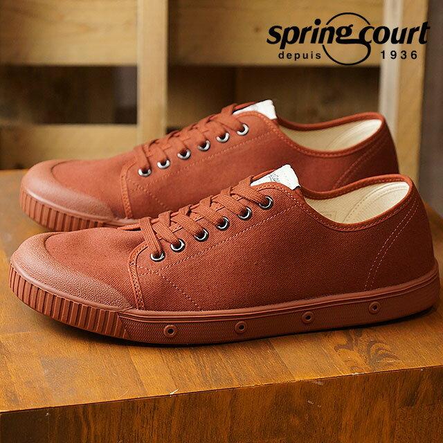 【在庫限り】SPRING COURT スプリングコート スニーカー 靴 メンズ MENS G2 ウォーター リペレント キャンバス(撥水キャンバス) DARK RED (G2N-2WRC FW17)【ts】【コンビニ受取対応商品】