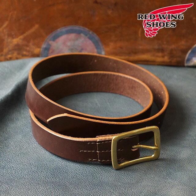 【即納】REDWING レッドウィング #96561 レザーベルト 32mm幅 Leather Belt メンズ Havana Brown (96561 FW18)【コンビニ受取対応商品】