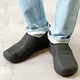 【12/12 14時まで!ポイント10倍】キーン KEEN メンズ ハウザー ツー MEN HOWSER II リラックス コンフォートシューズ モック 靴 Black/Steel Grey (1019616 FW18)