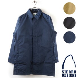 【即納】シェラデザインズ SIERRA DESIGNS メンズ ステンカラーコート TACOMA COAT II タコマ コート2 (8101 FW18)【コンビニ受取対応商品】