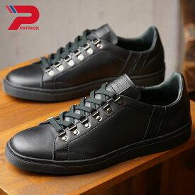 【即納】【返品送料無料】パトリック PATRICK ヴァティア VATIA メンズ レディース スニーカー 靴 ブラック BLK (718501 FW18)【コンビニ受取対応商品】