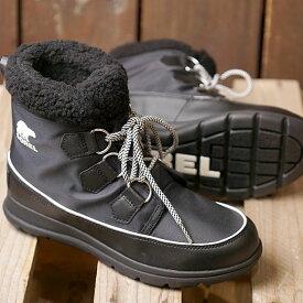 【サイズ交換片道送料無料】SOREL ソレル レディース ソレルエクスプローラーカーニバル W SOREL EXPLORER CARNIVAL ウィンター スノーブーツ アウトドアブーツ BLACK 靴 (NL3040-010 FW18)