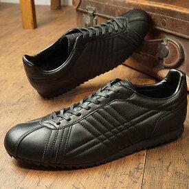 【即納】【返品送料無料】パトリック PATRICK シュリー・ウォータープルーフ SULLY-WP 防水レザー メンズ 靴 シューズ ビジネス スニーカー ブラック BLK (530971 FW18Q4)【コンビニ受取対応商品】
