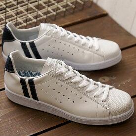 【即納】【返品送料無料】パトリック PATRICK スネーク+ケベック S+QUEBEC メンズ レディース スニーカー 靴 ホワイト WH/NV (530940 FW18Q4)【コンビニ受取対応商品】