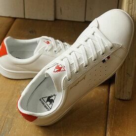 【即納】ルコック le coq sportif LA ローラン SL LA ROLAND SL レディース スニーカー 靴 ホワイト/レッド (QL1NJC08WR-161 SS19)