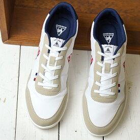 【即納】ルコック le coq sportif セギュール3 SEGUR III レディース フェミニン スニーカー 靴 ホワイト/ネイビー/レッド (QL3NJC05WN-304 SS19)