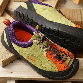 """【即納】キーン KEEN レディース ジャスパー ロックス エスピー WOMEN JASPER """"ROCKS"""" SP アウトドア スニーカー 靴 Woodbine/Butterfield (1020714 SS19)"""